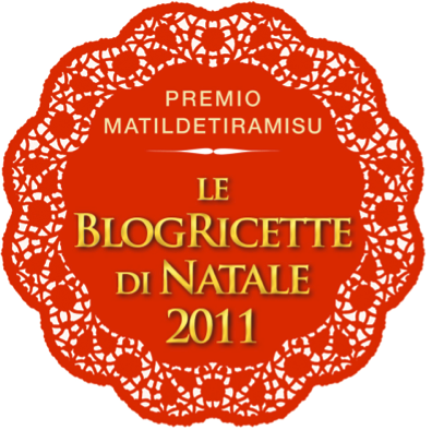 Le BlogRicette di Natale 2011 - Premio MatildeTiramiSu