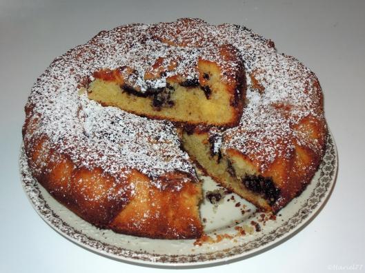 torta con marmellata affondata_fetta