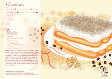 Dal Calendario 2013 delle Ricette di Matilde