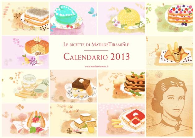 MatildeTiramiSu! Il calendario!