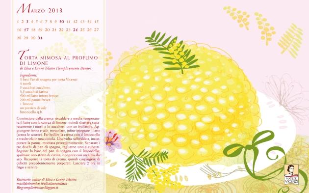 Sfondo PC torta - MatildeTiramiSu