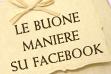 Galateo di Facebook
