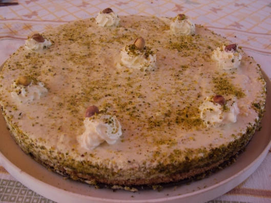 torta yogurt e pistacchi