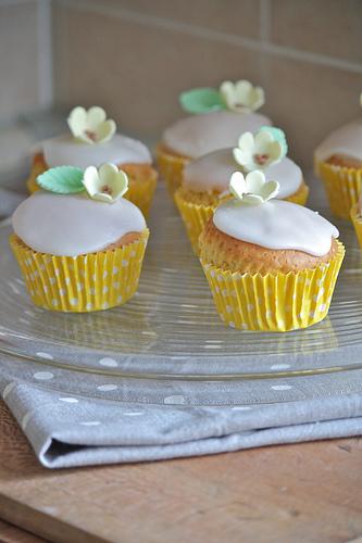Cupcakes glassati di Erika Cartabia