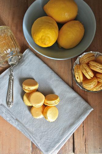 Macarons al limone di Erika Cartabia