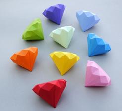 Origami come segnaposto... perché no?