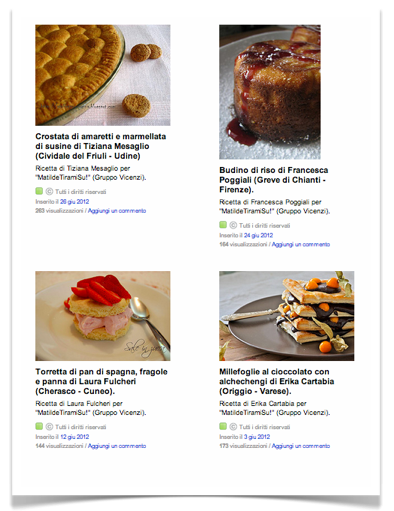 MatildeTiramiSu - Le vostre ricette di dolci su Flickr