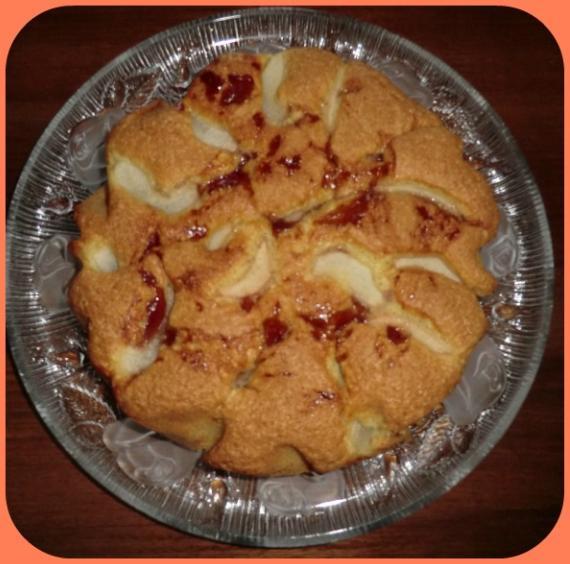Torta pere e marmellata